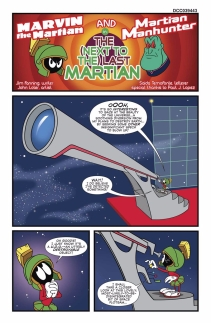 MARVIN THE MARTIAN MEETS MANHUNTER