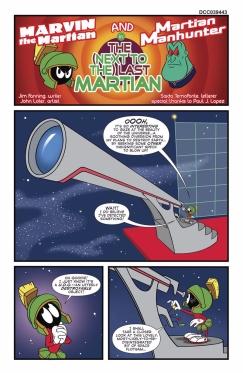 MARVIN THE MARTIAN MEETS MANHUNTER